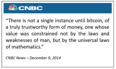 CNBC talks about bitcoin