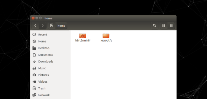 Linux Directory home